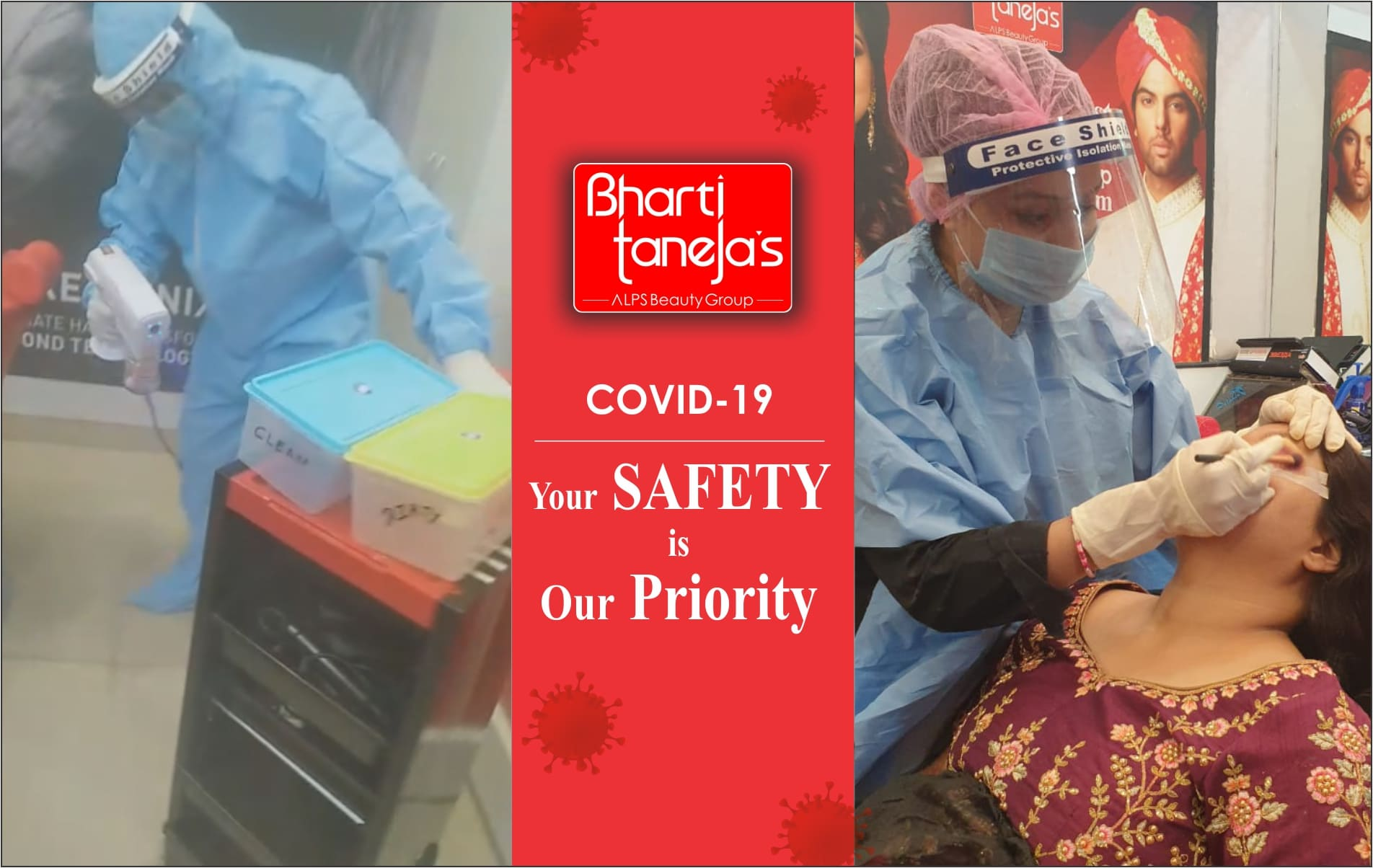 dr. bharti taneja's alps beauty group - beauty clinic